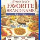 Book In the Kitchen w/America's Favorite Brand Name Recipes