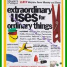 Book Extraordinary Uses for Ordinary Things 2007 NEW Sealed
