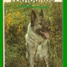 Book Dog Norwegian Elkhounds 1983 Used Library Book