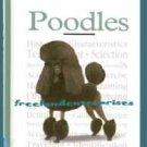 Book Dog A New Owner's Guide to Poodles Charlotte Schwartz