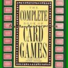 Book The Complete Book of Card Games Peter Arnold 1989 VGC