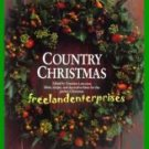Book CRAFTS Country Christmas Francine Lawrence (1990) VGC