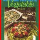 Book Better Homes & Gardens All-Time Favorites Vegetable Recipes 1977~NO writing