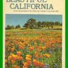 Book Beautiful California By Sunset Editors - 10th Printing 1987 VGC