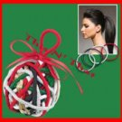 Hair Scunci® No Damage Elastic Ornament CONAIR New in Package