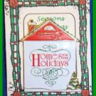 Christmas PIN #0054 Homes for the Holidays 1995 Dickens Village Enamel Tac