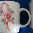 Breast Cancer Vintage Awareness Pink Ribbon Mug/Cup ~ AVON Circa 1997~ NOSIB