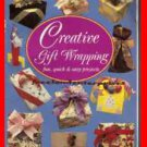 Book Creative Gift Wrapping Nancy Wall Hopkins 1991 Paperback