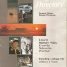 Vintage February 1988 Contel Telephone Book Directory Elkland-Knoxville-Westfeld