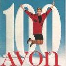 1986 Vintage Antique AVON Campaign 01 Sales Catalog Book Brochure Campaign 01