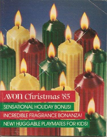 1985 Vintage Antique AVON Campaign 21 Sales Catalog Book Brochure Campaign 21