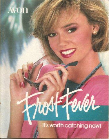 1985 Vintage Antique AVON Campaign 13 Sales Catalog Book Brochure Campaign 13