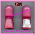 Roll-On Womens Pink Suede Anti-Perspirant Roll On Deodorant 1.7 oz.