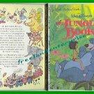 Book Walt Disney's The Jungle Book Little Golden Book 1967