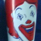 "Collectible Cup McDonald's Restaurant Wax Drinking Cup ""Ronald"" w/Lid Circa 2001"