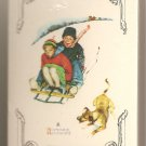 "Collectible Playing Cards Norman Rockwell ""Winter"" Unopened Made in U.S.A."