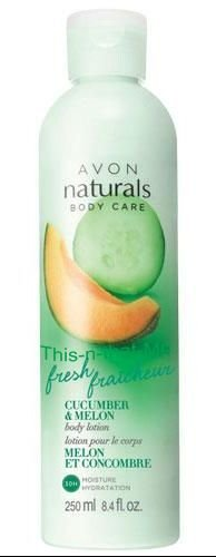 NATURALS Cucumber and Melon Fresh Fraicheur Refreshing Body Lotion NEW 8.4 oz