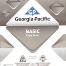 Copy Printer Paper 2 Reams @500 ct =1000 Ct NEW 8.5 X11 Georgia Pacific Basic#88