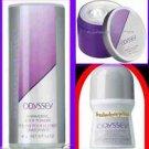Womens Fragrance Set ODYSSEY ~NEW~ (Quantity of 1 Set-Talc, Roll On, Softener)