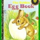 Book Vintage A Little Golden Book The Golden Egg Book LGB ~Circa 1975~