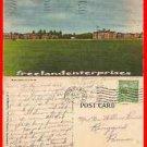 Post Card MD 1134 Parade Ground, Forte Meade MD VTG Linen 1951 # 1134