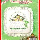 CRAFTS Candlewicking Basket Pillow Kit #5068 McNeill NIB