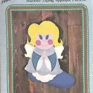 CRAFTS Aunt Martha's Christmas Little Angel Christmas Stocking Pattern Colonial