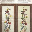 "CRAFTS Janlynn Counted Cross Stitch Kit ""Bird Panel"" CHARMIN #2834 (#04-554)"