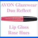 Make Up AVON Glazewear Duo Reflect Lip Gloss ~ Rose Hues ~