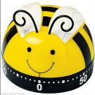 Kitchen Timer Busy Little BeeTimer 60 Minute Timer (Yellow-Black-White)-(LAST 1)