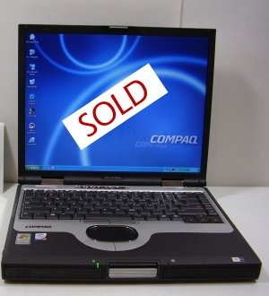 Compaq Evo N1000c P4 M 1.8 GHz 512 MB 40 GB DVD Rom- CDBurner - Wireless Card