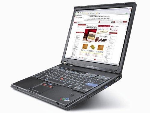 IBM Think Pad T40 1.5 GHZ DVD- CD/RW + Wireless Card