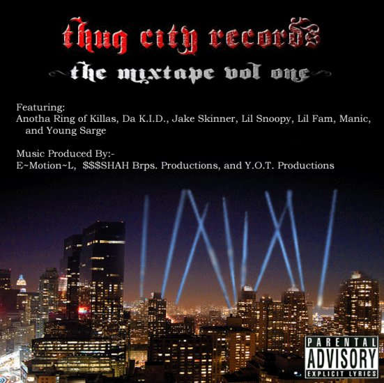 Thug City Vol.1