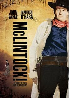 McLintock DVD with John Wayne BRAND NEW SEALED