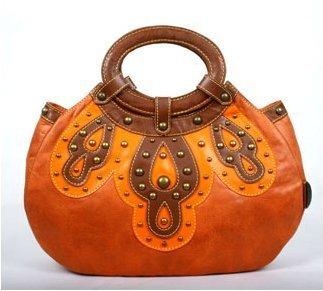 Blackeyes Brand new handbag made in china. hot selling orange