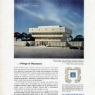 1963 Lehigh Cement Print Ad-Shapero Hall Pharmacy Wayne State University