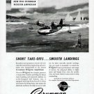 1946 Grumman Aircraft Print Ad-Widgeon Amphibian Airplane