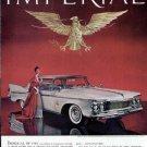1961 Chrysler Imperial Crown Southampton Vintage Car Print Ad