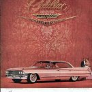 1961 Cadillac Vintage Car Print Ad-Pink Color