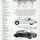 1952 Jaguar Sports Coupe & Mark VII Vintage Car Print Ad