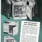1952 General L-K Kitchen Stove Refrigerator  Combo Unit Print Ad
