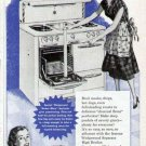 1952 Wedgewood Gas Cook Range Print Ad-High Broiler