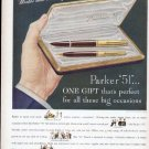 1948 Parker 51 Fountain Pen Print Ad-Most Wanted Pen