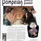 1922 Pompeian Beauty Powder Vintage Print Ad-Don't Envy Beauty