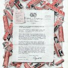 1915 Colgate Ribbon Dental Cream Toothpaste Vintage Print Ad