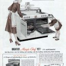 1948 Magic Chef Cook Stove Gas Range Vintage Print Ad-two ovens
