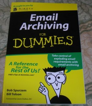 Email archiving for Dummies