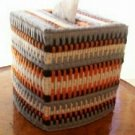 Native American Tissue Box Cover /w tissue