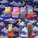 Cute Little Bunnies in a Box Magnets