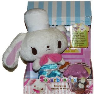 Sanrio Sugarbunnies Shirousa Share & Play with Cookie cutter